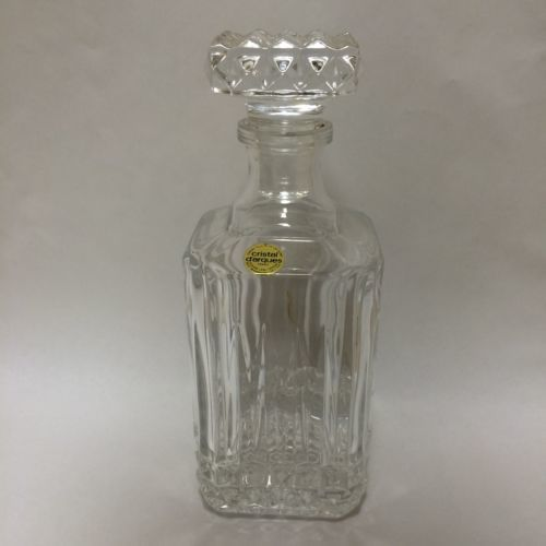 Primary image for France 24% Leaded French Crystal Cristal d'Arques Art Glass Decanters darques