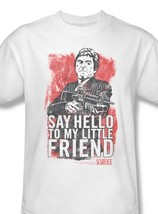 Ittle friend al pacino tee crime thriller pfeiffer for sale online white graphic tshirt thumb200