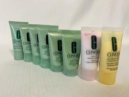 Lot of 7 Clinique 7 Day Scrub Cream Rinse Off Formula 1 oz Each + 2 BONUS  - $13.49