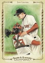 2009 Topps Allen and Ginter Baseball Highlights #AGHS15 Jon Lester  - $0.50