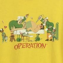 T Shirt Mens Yellow Size Medium Milton Bradley OPERATION Game - $10.00