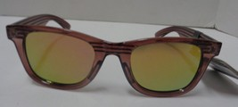 Foster Grant Sunglasses Wood Design Frame Mirrored NWT 100% UVA UVB Protection image 2