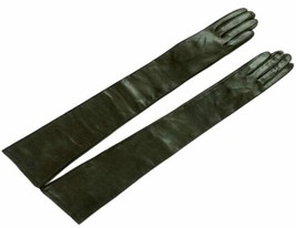 85cm(33 inches)Women's 100% Real Leather Long Opera Gloves /Evening Part... - $58.93+