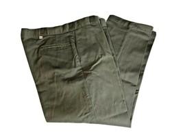 Mens Dickies Original Fit Work Pants Size 44W x 29L Grey Industrial Pock... - $20.88