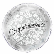 Victorian Wedding 18 inch Foil Balloon Bridal Shower Engagement Party - $1.97