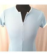 Bike Performance Jersey Womens Large Cycling Racing Biking Top Shirt Blu... - $15.00
