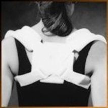 Corflex Clavicle Strap - Clavicle Fracture Treatment-S - White - $19.57