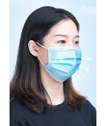 50 Disposable Face Mask Surgical 3 Ply Mouth Guard Cover Face Masks Prot... - $21.00