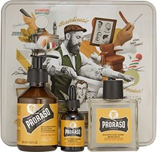 Proraso Wood and Spice Beard Care Tin image 1