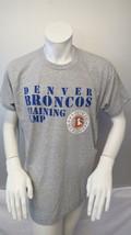 Denver Broncos Shirt (VTG) - Traing Camp Type Set Grpahic - Men's Extra Large - $55.00