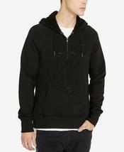 Buffalo David Bitton Men's Half-Zip Logo Hoodie, Size XL, MSRP $89 - $37.39