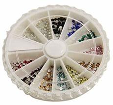 250 PCS 11 Color Attactive Rhinestones For Nail Art Decoration, Multicolor image 2
