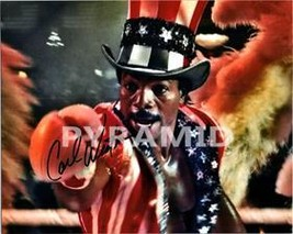CARL WEATHERS Autographed Signed Photo w/COA - 17588 - $65.00