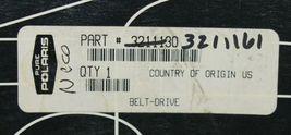 Polaris 3211161 Snow Dirt ATV OEM Drive Belt Double Sided V image 4