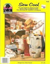 Sew Cool Cross Stitch on Coolers Mugs & Beach Towels Charter Publishing ... - $4.99