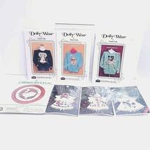 Cross stitch 9 pcs Angels,Ducks + Doily Wear patterns - $14.03
