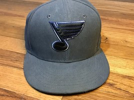 St. Louis Blues NHL Hockey 59Fifty New Era Fitted Hat Cap STL (Size 7 3/... - $14.99