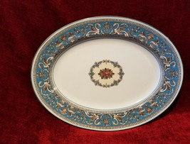 "Wedgwood Florentine TURQUOISE 15 1/4"" Serving Platter - $68.30"