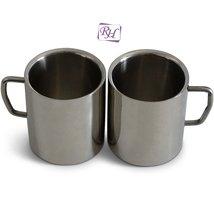 Rastogi Handicrafts Coffee Mug, Desk Mug, Double Insulated Drinking Cups... - $14.85
