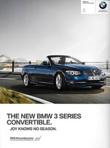 2011 BMW 3-SERIES Convertible brochure catalog 11 US 328i 335i 335is - $8.00