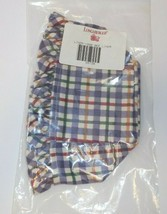 Longaberger 1998 Bee Liner ONLY Blueberry Plaid New 28738 - $14.84