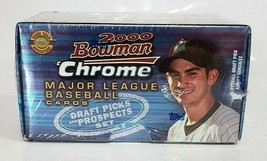 2000 Bowman Chrome Draft Picks and Prospects Set Factory Sealed - $18.70