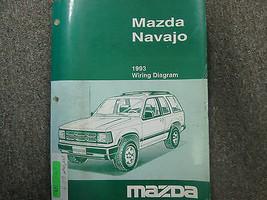 1993 Mazda Navajo Elektrisch Wiring Manuell Fabrik OEM Buch 93 - $9.64