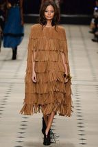 WOMEN'S NEW IN FASHION FRINGES SUEDE LEATHER CAPE PONCHO BOHO HIPPY SHAWL WC132 image 10