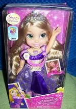 "Disney Princess SING & SHIMMER RAPUNZEL 14"" Doll New - $32.50"