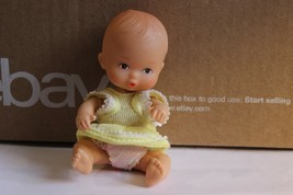 """5"""" Jointed Doll house Sized Baby Doll rubber head, plastic body pouty fa... - $16.95"""