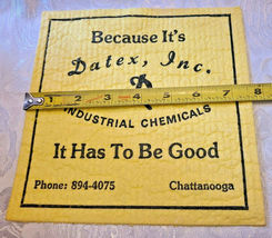 Datex, Inc. Industrial Chemicals Advertising WETTEX Chamois Cloth Chattanooga image 3