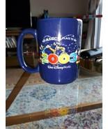 Retired 2003 Walt Disney World 3D Ceramic Coffee Mug Magical Place To Be  - $5.13