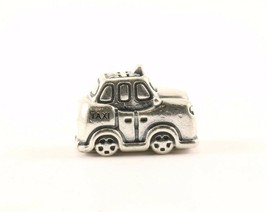 Vintage Authentic Pandora Taxi Cab 791221 Bead Charm Sterling 925 CH 16-E - $32.49