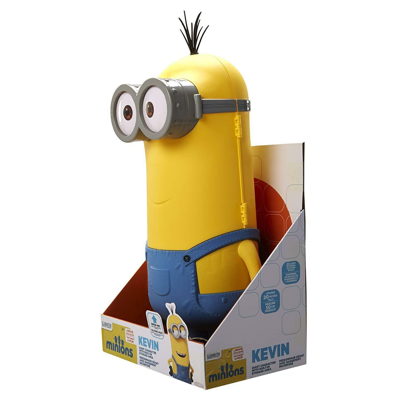 "Despicable Me Minions 20"" Minion Kevin Storage Chest Jakks Pacific New image 2"