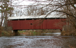 Zook's Mill Covered Bridge 13 x 19 Unmatted Photograph - $35.00