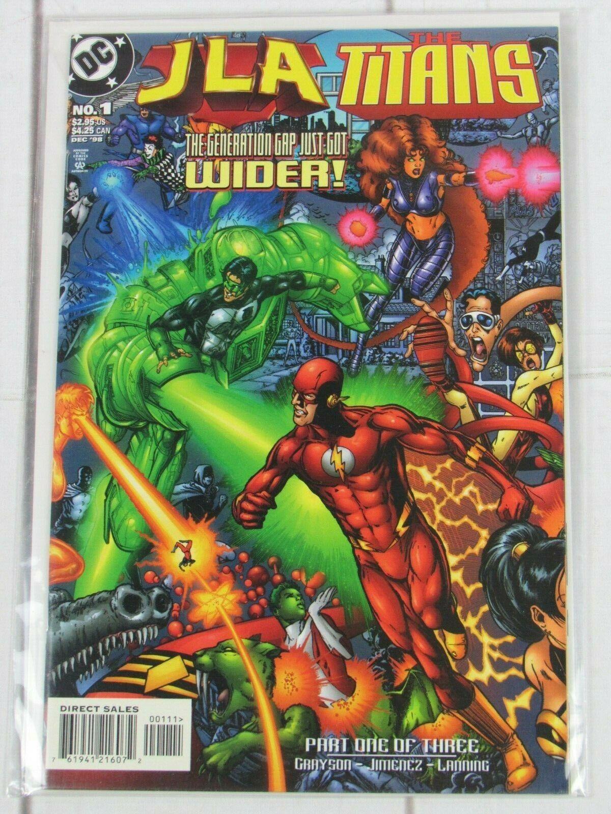 JLA TITANS (1998) #1 DC COMICS - C4964