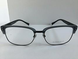 New Burberry 5322 3640 54mm Grey Black Clubmaster Men's Eyeglasses Frame... - $149.99