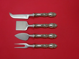 Lucerne by Wallace Sterling Silver Cheese Serving Set 4 Piece HHWS  Custom - $247.10