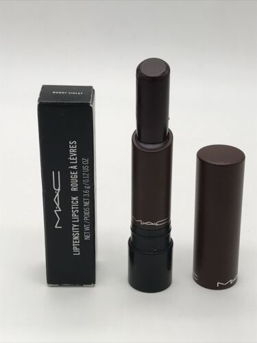 Primary image for Mac Liptensity Lipstick 0.12oz/3.6g New In Box -Burnt Violet- Authentic