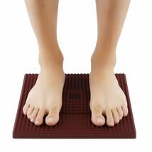 Therapy Treatment Acupressure Pyramid Foot Mat Relief Full Plantar Healt... - $16.99