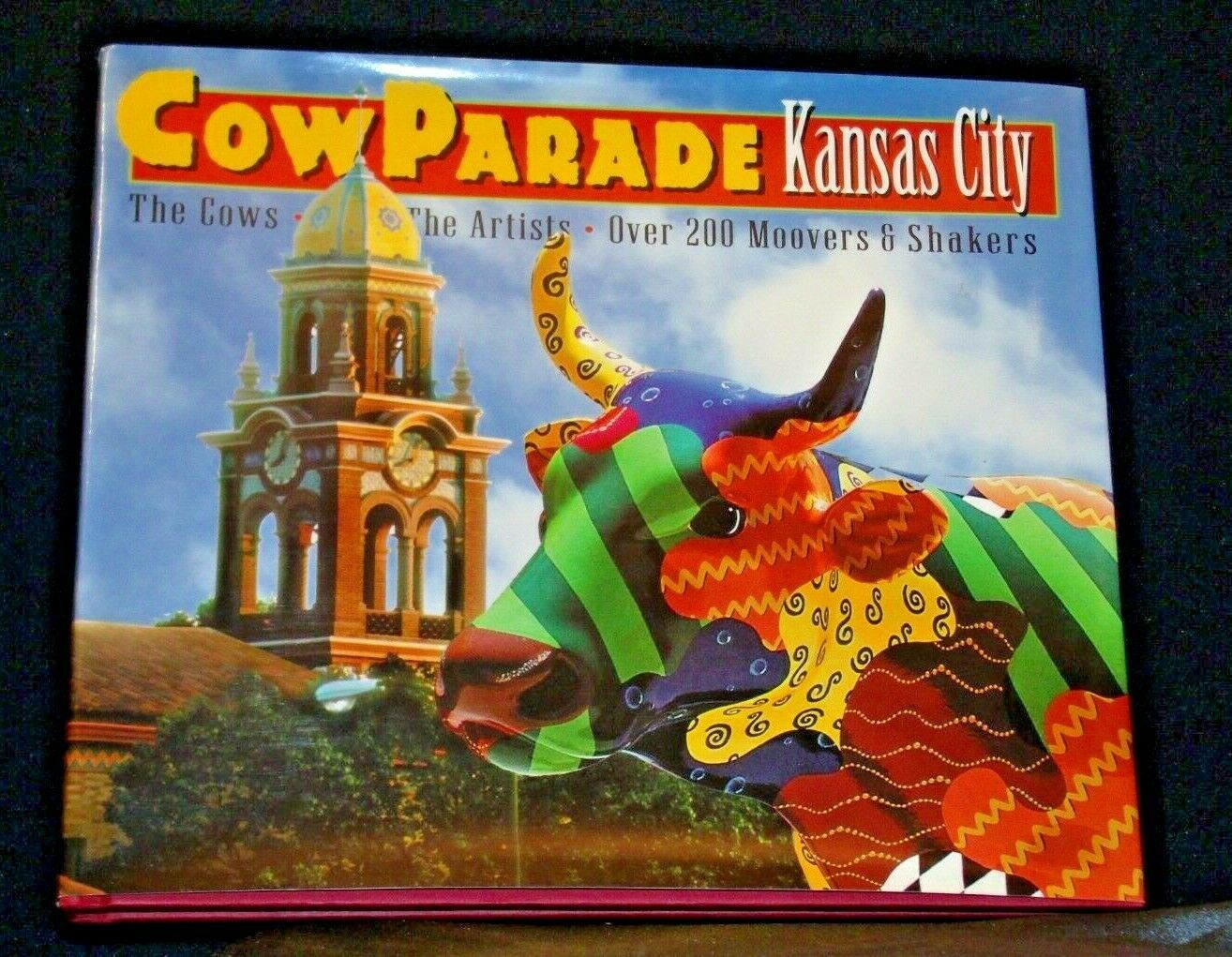 Hard Cover Westland Giftware CowParade Kansas City Book AA-191937 Vintage Colle