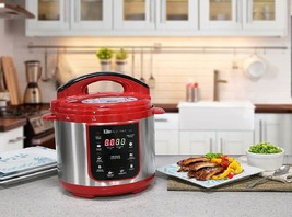 4 qt electric pressure cooker red use thumb200