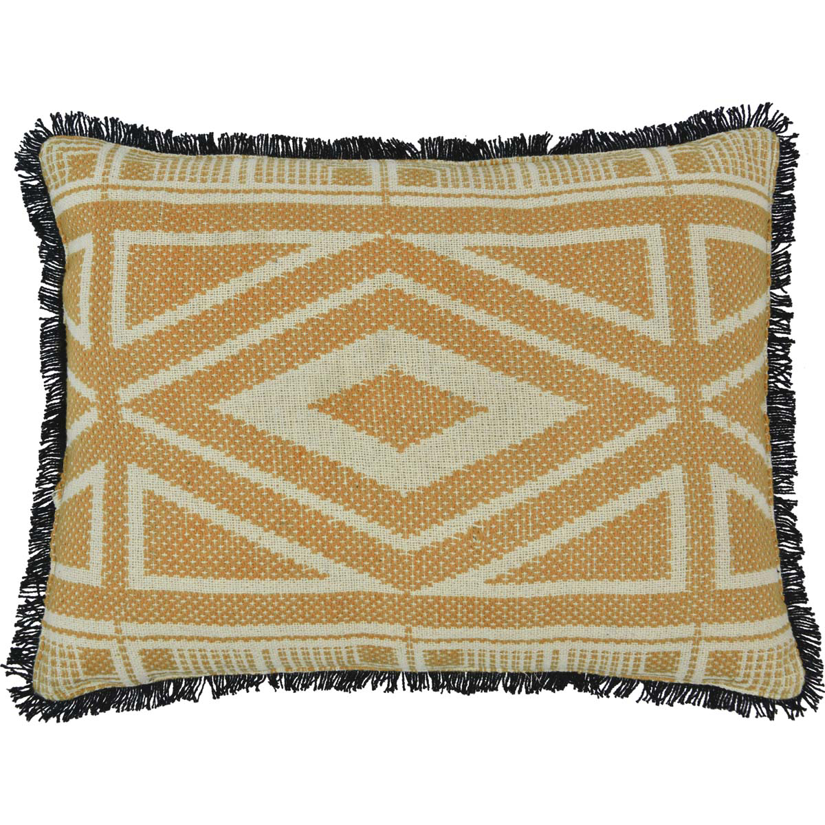 "Dakota Jacquard Pillow - 14""x18"" - VHC Brands - Boho and Eclectic Style"