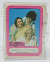 Three's Company (Tv) 1978 Complete 44 Trading Card Topps Sticker Set Vintage - $19.77