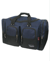 Small Navy DUFFELBAG  DUFFEL Gym  BAG Bags New Carry On Tote Sport Heavy... - $344,00 MXN