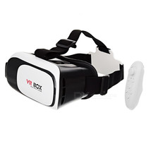 VR BOX Enhanced Version Virtual Reality Glasses w/ BT Mouse - Black - €26,69 EUR