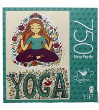 YOGA Jigsaw Puzzle 750 PC Yogi Flowers and Foliage Cardinal New in Seale... - $17.77