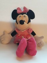 "Disney Store Red Purple & Pink Minnie Mouse 20"" Plush Stuffed Animal - $25.73"