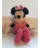 "Disney Store Red Purple & Pink Minnie Mouse 20"" Plush Stuffed Animal - $25.73"