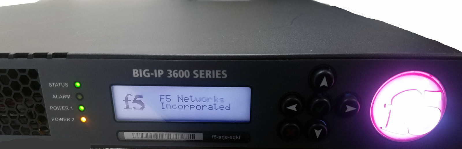 F5 Networks BIG-IP-3600 Traffic Manager Sever With 8GB CF And 320GB HDD Bin: 1